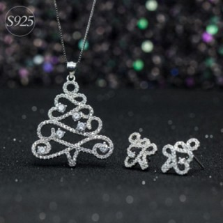 Zirconia Tree Necklace
