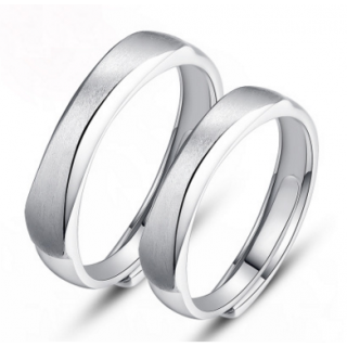 Engrave Name Couple Ring Set C