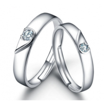 Engrave Name Couple Ring Set L