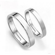 Engrave Name Couple Ring Set N