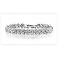 [ 60 % Off ] Zirconia Elements Bracelet 1 Unit Deal
