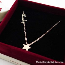 Lucky Star Rose Gold Necklace