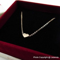 Love Icon Rose Gold Necklace