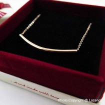 Curve Line Necklace