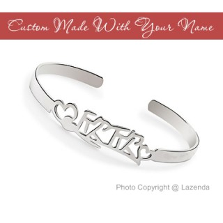 Custom-Made Name Bangle