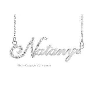 Full Diamond Name Design