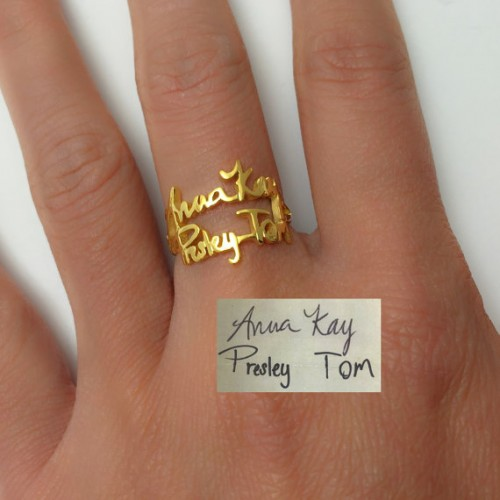 Arabic Stone Ring