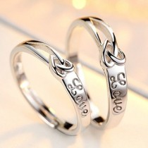 Engrave Name Couple Ring Set R1