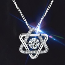 Twinkle Star Diamond Necklace